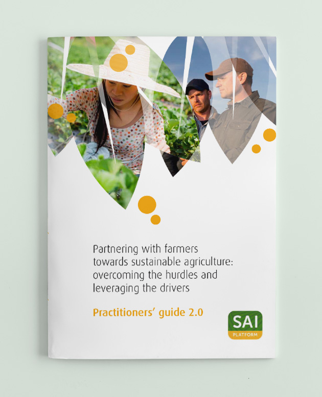 Practitioner's Guide 'Partnering with Farmers towards Sustainable Agriculture' picture