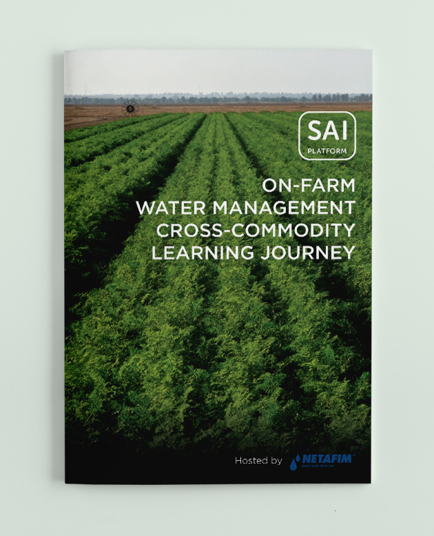 Report Learning Journey On-Farm Water Management in Israel picture