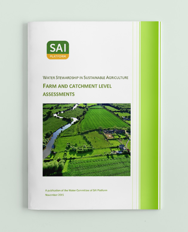 Water Stewardship for Sustainable Agriculture - Farm and Catchment Level Assessments picture