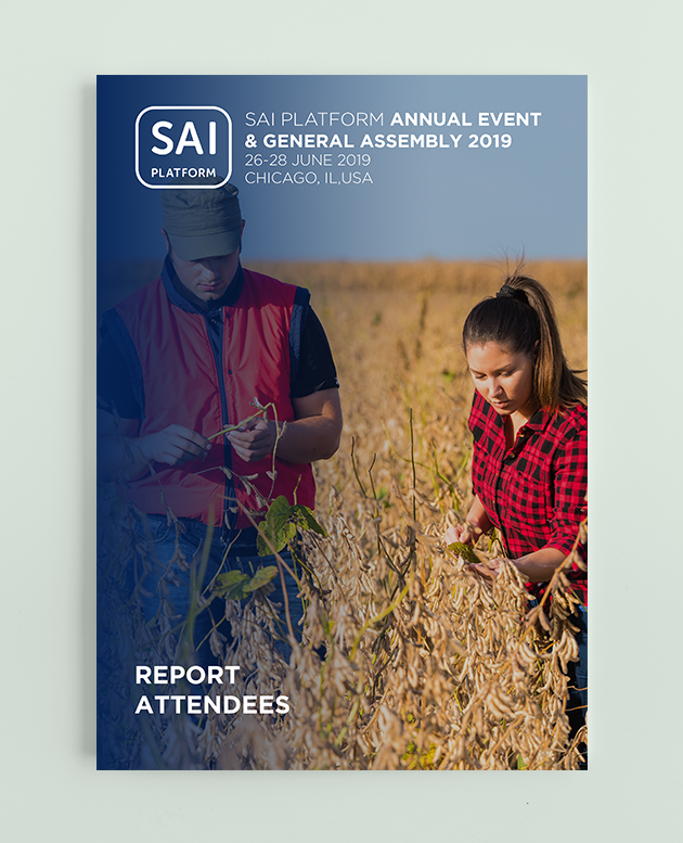 Report SAI Platform Annual Event 2019 - Chicago, IL, USA picture
