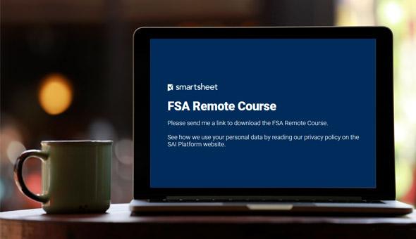 COVID-19: SAI Platform launches FSA remote training course picture