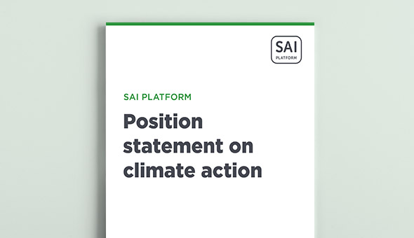 Position statement on climate action picture
