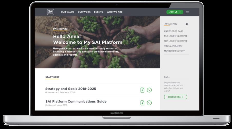 My SAI Platform picture